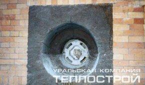 """Набивка боковых горелок пластической массой фирмы """"Базальт"""""""